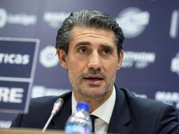 El exfutbolista José Luis Pérez Caminero