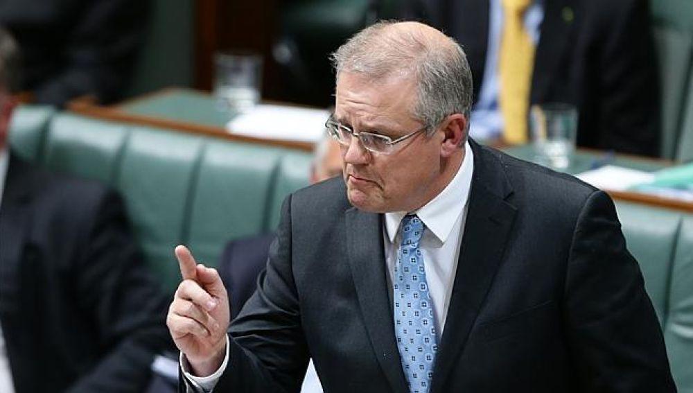 El primer ministro de Australia, Scott Morrison
