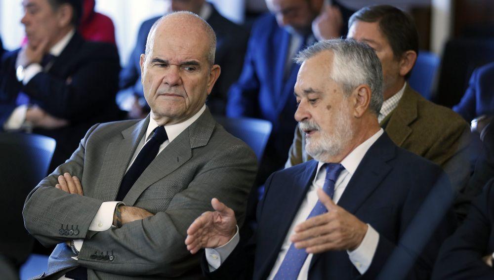Chaves y Griñán en el juicio de los ERE
