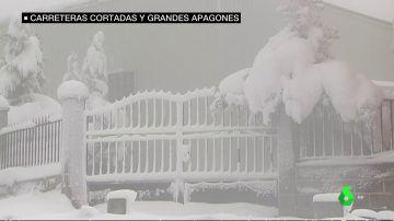La nieve y el frío adelantan el invierno