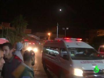 Israel mata a tres niños palestinos con un un dron en Gaza