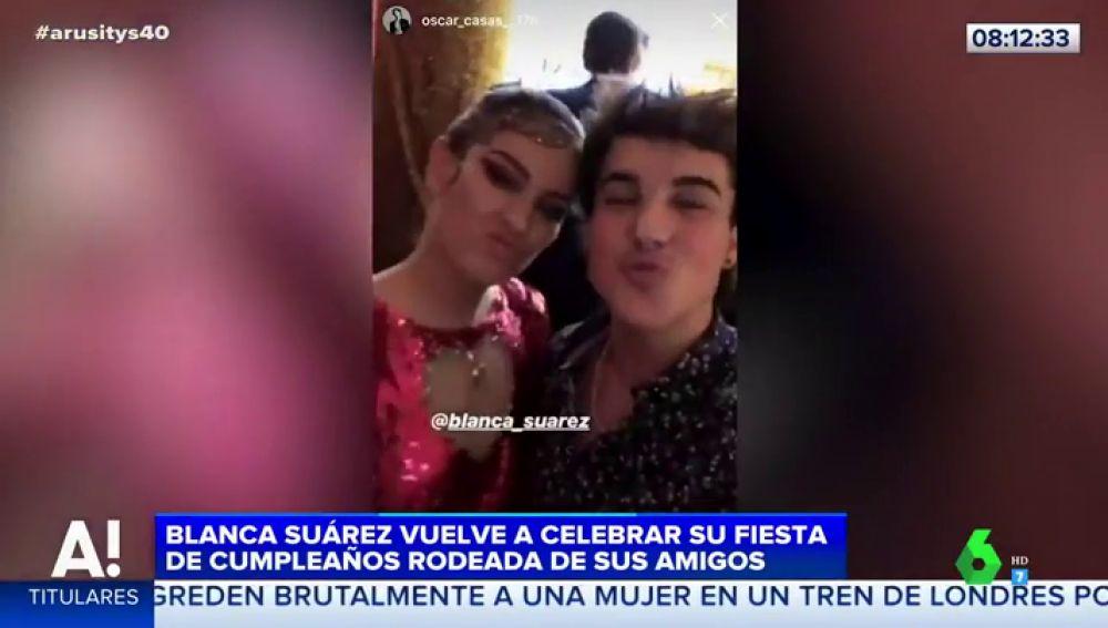 La increíble fiesta de Blanca Suárez por su 30 cumpleaños