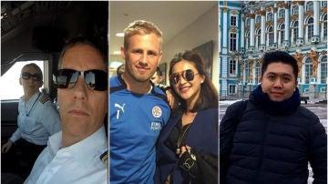 Los fallecidos en la tragedia del helicóptero en Leicester