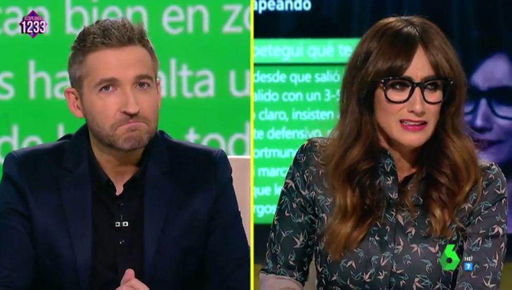 Frank Blanco y Ana Morgade