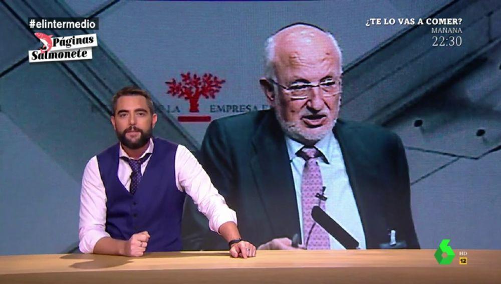 "Dani Mateo y la 'droga' de Mercadona: ""Juan Roig ha conseguido enganchar a millones de españoles a algo más adictivo que el hummus"""