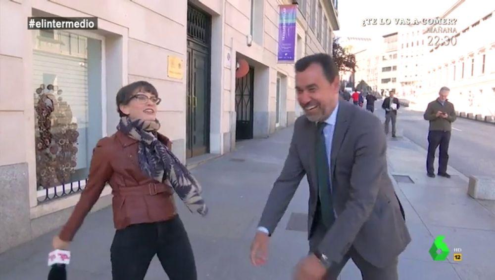 Thais Villas y Fernando Martínez-Maillo
