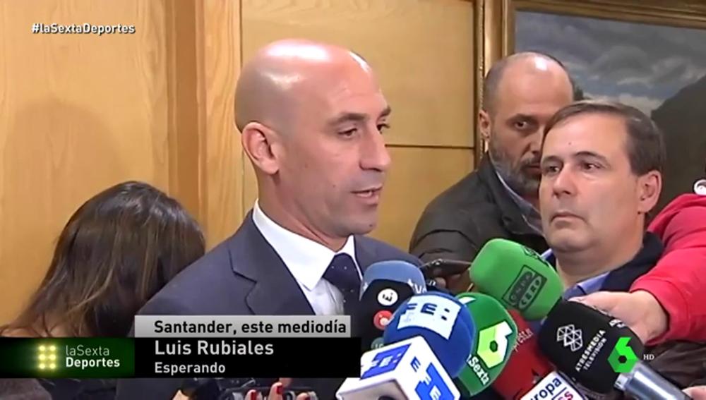 """Rubiales, sobre la detención del vicepresidente de la RFEF: """"Espero que Subies pueda demostrar su inocencia"""""""