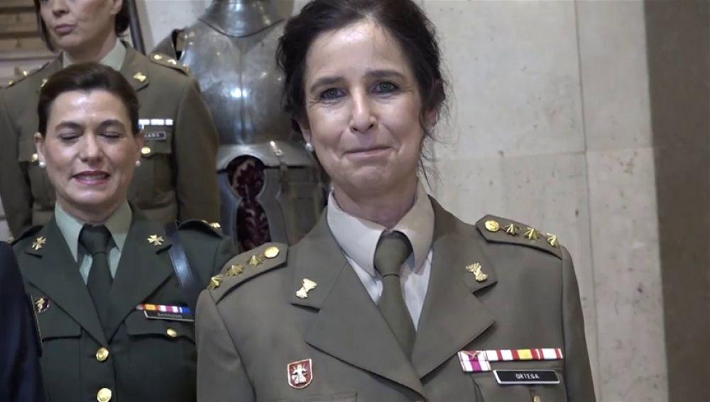 Patricia Ortega puede ser la primera mujer general en el Ejército Español