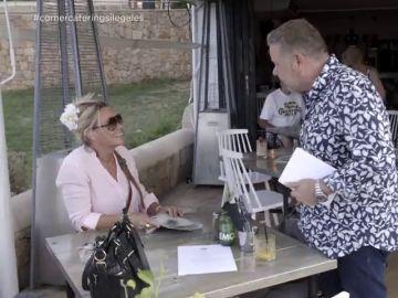 """Alberto Chicote pone entre las cuerdas a una empresaria de un catering ilegal: """"¿Sabías que tienes una denuncia interpuesta contra ti?"""""""