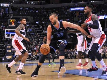 Marc Gasol, ante los Washington Wizards