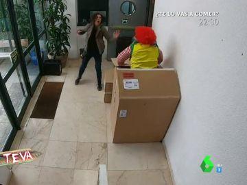 El susto de Miki Nadal a Cristina Teva