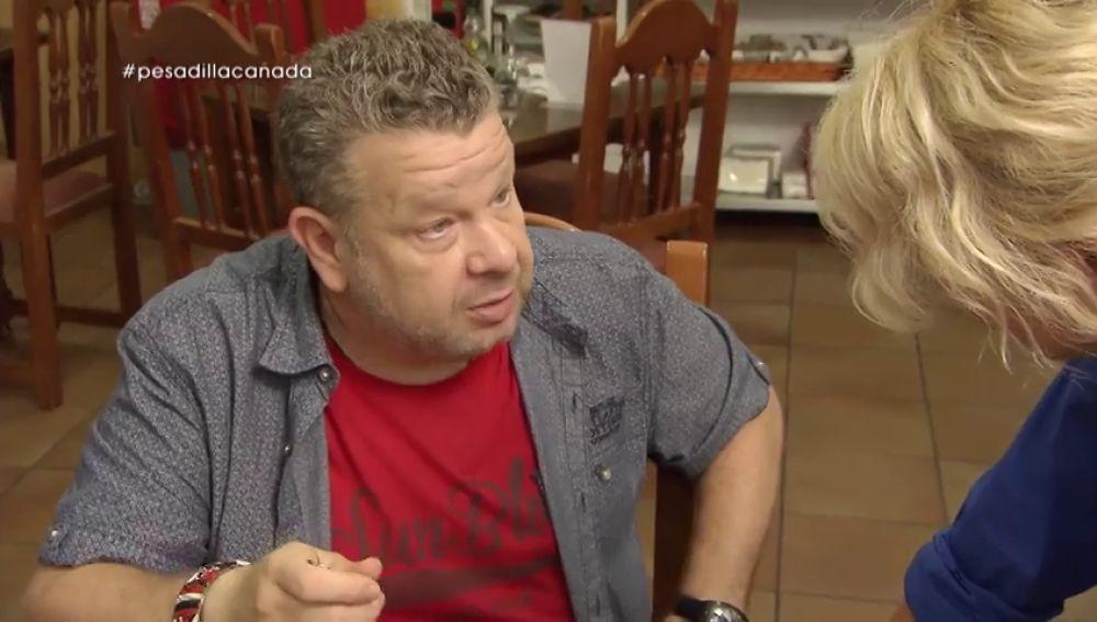 La mujer del 'rey del cachopo' pidió ayuda a Alberto Chicote para reflotar su restaurante asturiano A Cañada