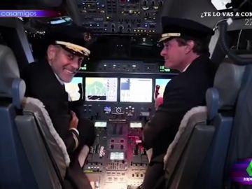 George Clooney de piloto
