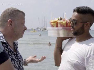 """La respuesta de un vendedor de comida ambulante a Alberto Chicote tras acusarle de venta ilegal: """"Hay gente que hace cosas peores"""""""