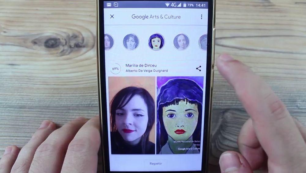 ¿Tienes un doble en alguna obra de arte? Hazte un selfie y descúbrelo