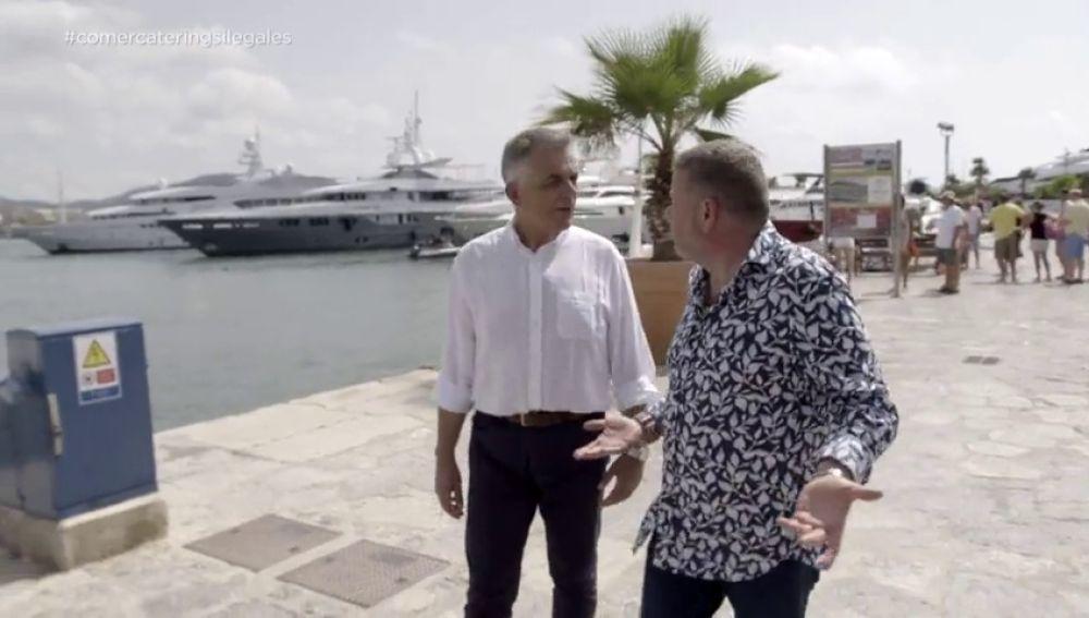 """La justificación del Consell de Ibiza cuando Alberto Chicote pide responsabilidades: """"Contamos sólo con seis inspectores para toda la isla"""""""