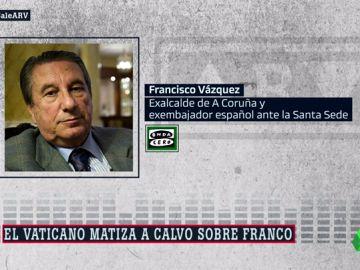 """El exembajador de España en el Vaticano carga contra Carmen Calvo: """"Esa interpretación torticera es un abuso de confianza"""""""
