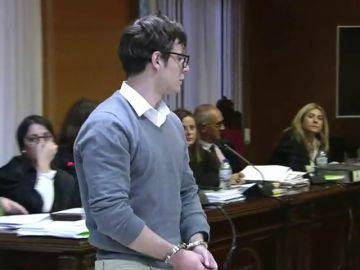"""El alegato final del Patrick Nogueira, el asesino de Pioz: """"Pido perdón, he hecho daño a gente a la que tengo aún cariño"""""""