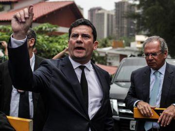 El juez Sergio Moro, responsable de la operación Lava Jato