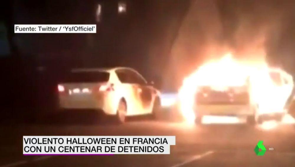 Francia acaba la noche de Halloween con más de un centenar de detenidos