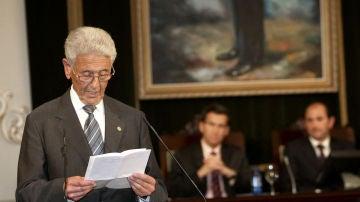 Mariano Rajoy Sobredo, padre del expresidente del Gobierno Mariano Rajoy
