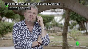Chicote destapa cómo trabajan las empresas denunciadas por catering ilegal en Ibiza