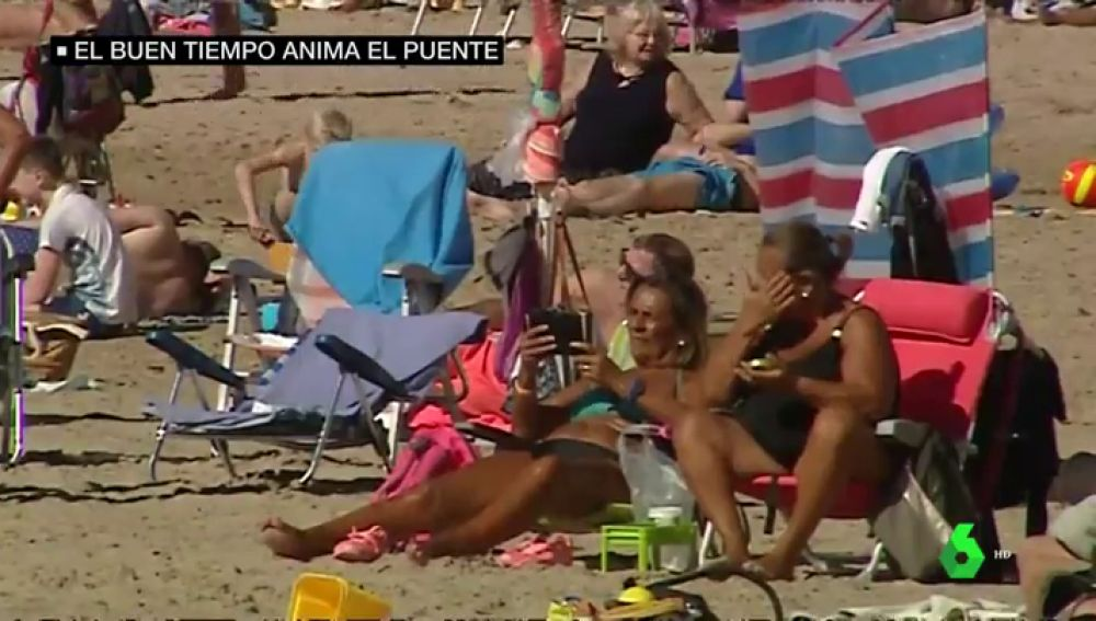 España está de puente festivo y el tiempo acompaña