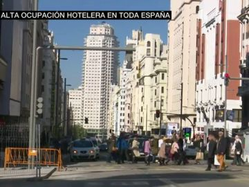 Alta ocupación hotelera en toda España durante el puente
