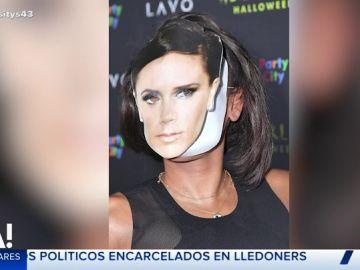 El disfraz en forma de 'zasca' de Mel B a Victoria Beckham en Halloween