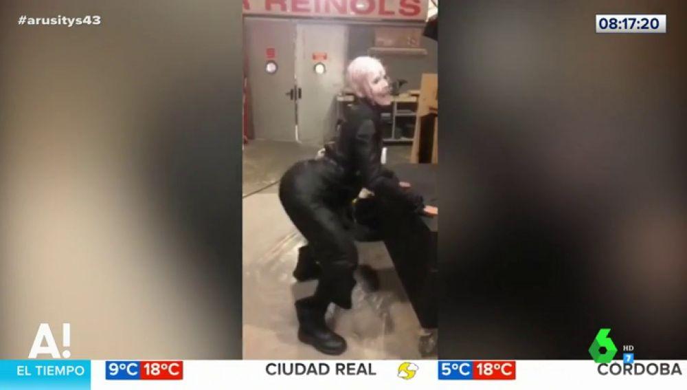 Cristina Pedroche o cómo disfrazarse de Pinhead y hacer un twerking de lo más sexy
