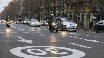 Reducción de velocidad en ciudades