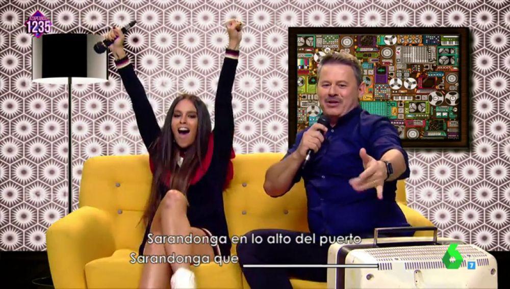 Cristina Pedroche con Miki Nadal