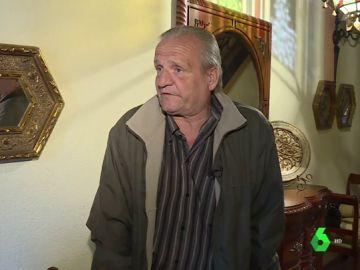 Demetrio, pensionista con discapacidad de Cebolla, Toledo