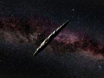 Así es Oumuamua, el misterioso asteroide que se acerca a la Tierra y que podría albergar vida extraterrestre