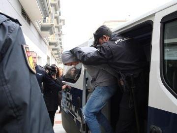 Imagen de uno de los cuatro detenidos por la muerte de un Guardia Civil en Don Benito