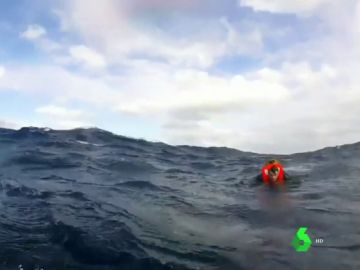 Personas rescatadas en costas españolas