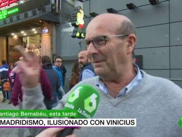 """La afición del Real Madrid se 'pide' a Vinicius: """"hay que sacarle, titular"""""""
