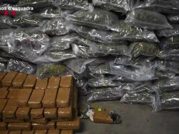 Droga encontrada en un camión de Tarragona
