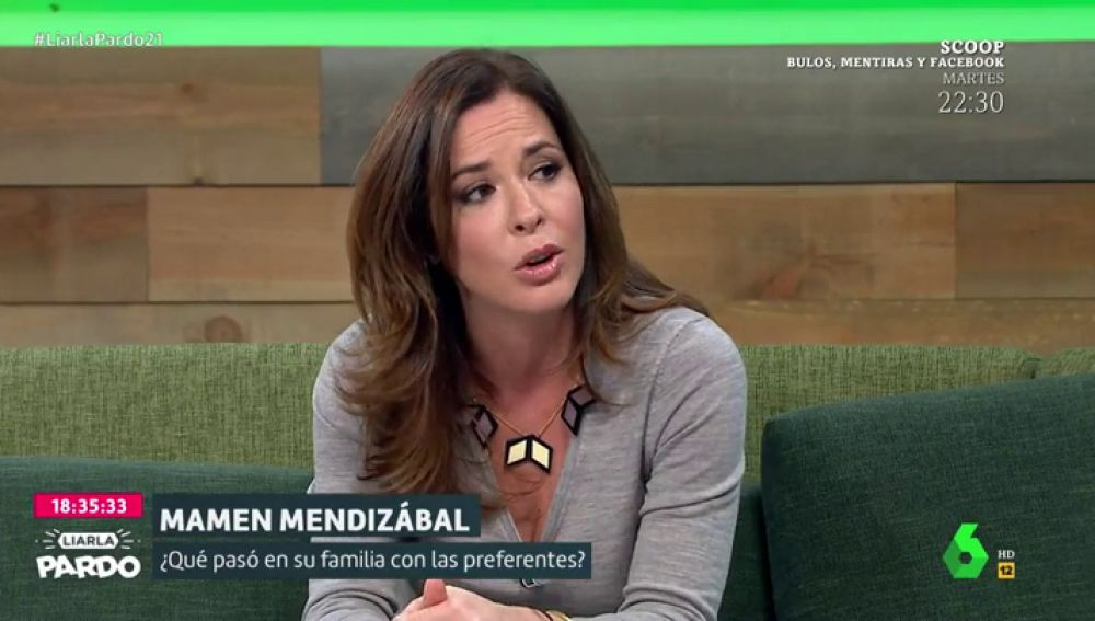 """La historia de la familia de Mamen Mendizábal, estafada por las preferentes: """"Mis abuelos y mi madre murieron sin recuperar el dinero"""""""