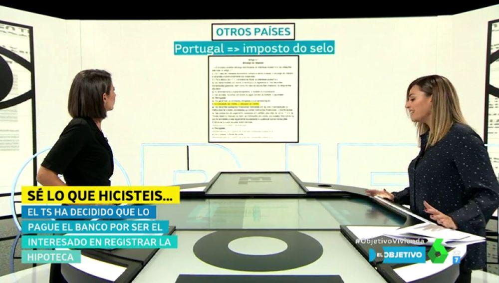 Inés Calderón habla del impuesto de las hipotecas