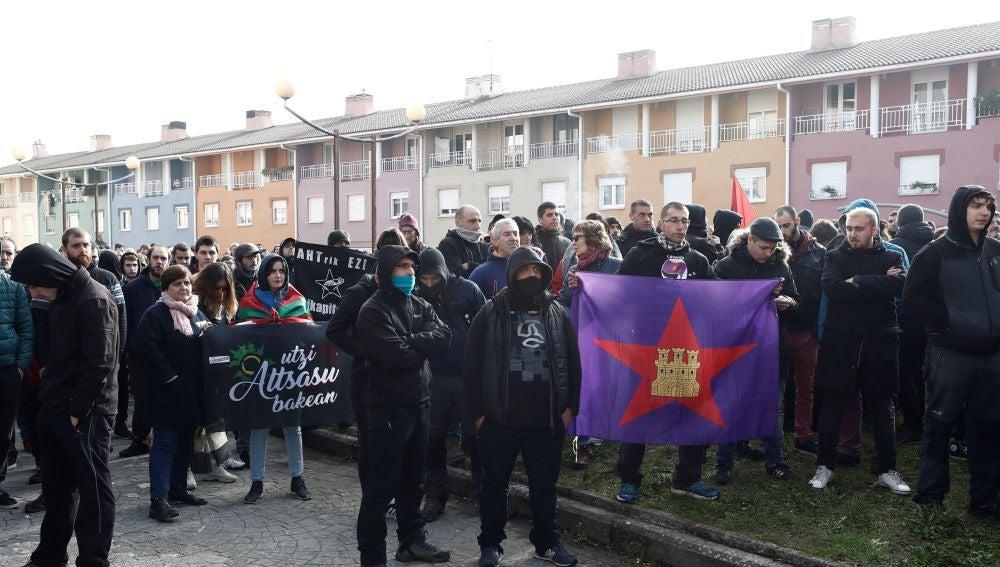 """Manifestación en contra de la iniciativa """"España Ciudadana"""", impulsada por Ciudadanos"""