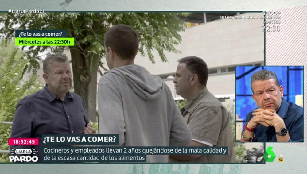 """""""Muchas veces tenemos que desechar el pescado, estos productos no deberían llegarnos"""": las quejas de los cocineros del Complejo Hospitalario de Jaén"""