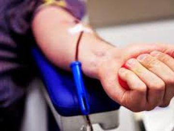 Imagen de archivo de un donante de sangre