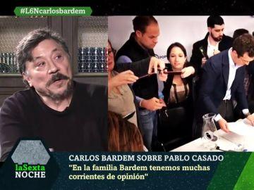 Carlos Bardem, en laSexta Noche