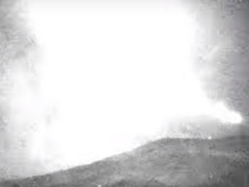 Imagen de la bola de fuego que surcó el cielo del sureste de España