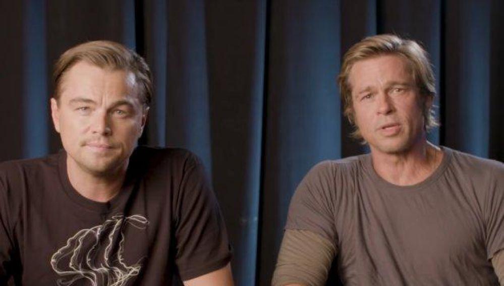 Leonardo DiCaprio y Brad Pitt