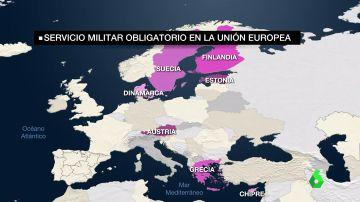 La mili está de vuelta en Europa: estas son las razones por las que podría también instaurarse en España