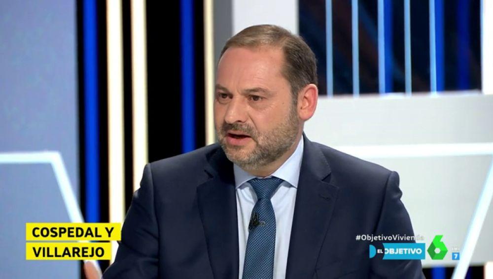 José Luis Ábalos, en El Objetivo