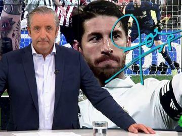 """Josep Pedrerol: """"Sergio Ramos volvió a demostrar que en personalidad no le gana nadie"""""""