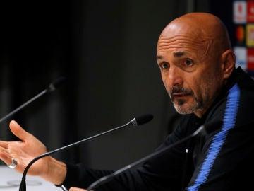 Luciano Spalletti, en rueda de prensa
